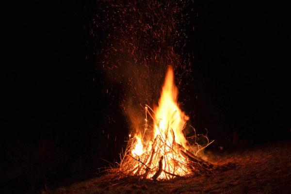 Lagerfeuer und Gemütlichkeit