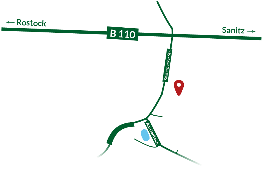 map standort junges tannenbäume